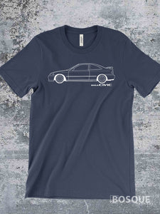 Blueprint 1999 B16A Civic Si Coupe Shirt - Ink Printed T-Shirt