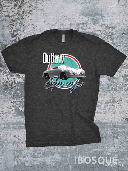 356 Outlaw Porsche - Ink Printed T-Shirt