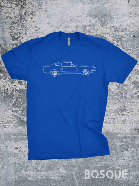 Blueprint 1967 67 GT500 Shirt - Ink Printed T-Shirt