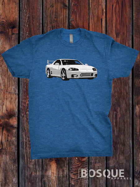 1999 3000GT VR-4 Custom T-Shirt Car, Racer, Mitsubishi 3000GT VR4 Shirt - Ink Printed