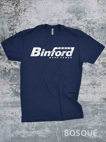 Binford Tools More Power shirt - Ink Printed T-Shirt