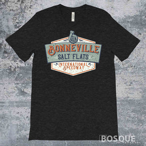 Bonneville International Raceway - Ink Printed t-shirt