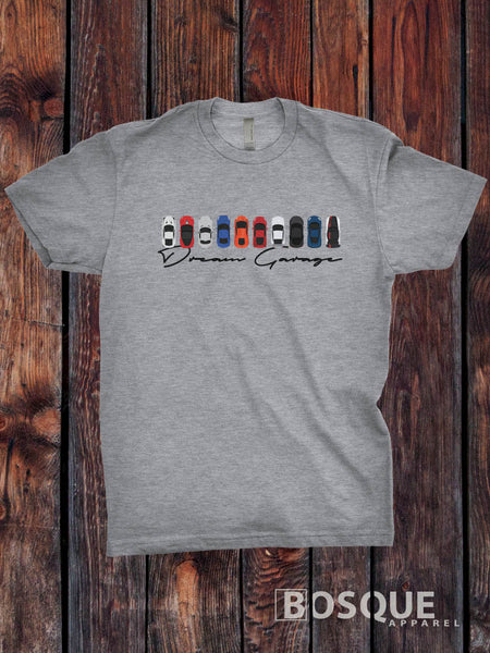 Dream Garage Top Gear inspired T-Shirt - Ink Printed