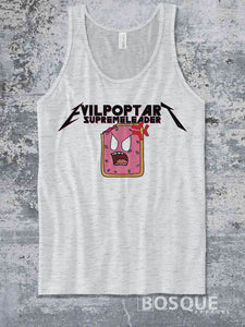 Evil Poptart Supreme Leader Metalhead Logo Twitch Streamer evilpoptartsupremeleader Ink Printed Tank Top