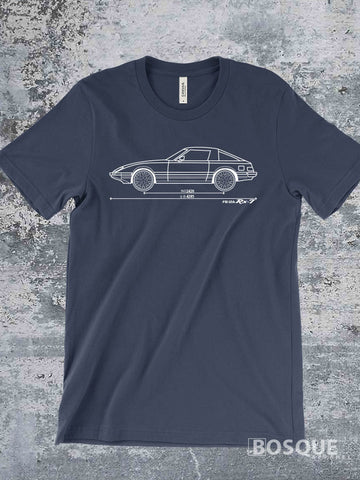 Blueprint SA FB 12A RX7 RX 7 Ink Printed Tee Shirt