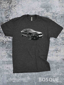 GT500 Cobra Mustang Shirt - Ink Printed T-Shirt