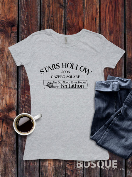 Stars Hallow Knitathon -  Gilmore Girls inspired design - Ink Printed T-Shirt
