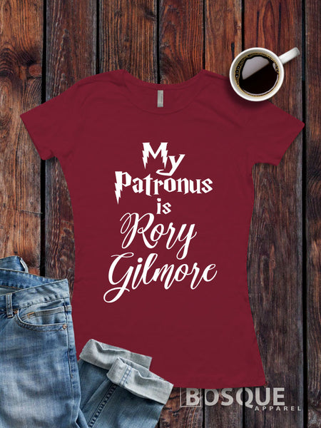 Gilmore Girls inspired T-Shirt - My Patronus is Rory Gilmore shirt - Ink Printed …