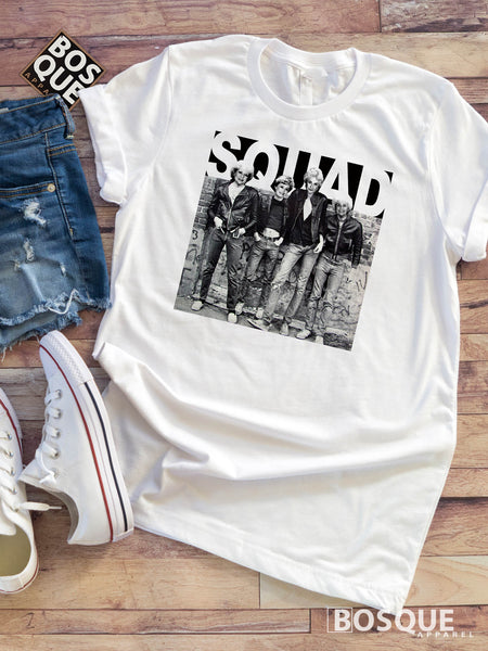 Golden Squad Leather Jacket Humor Music Funny Tee Shirt