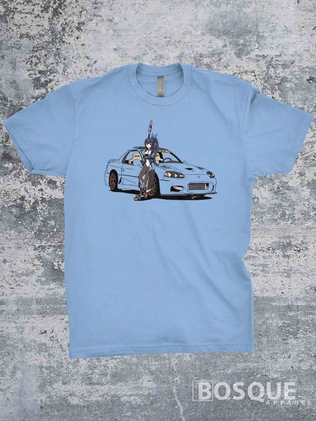 JacobVR4 3000GT VR-4 Twin Turbo Anime Shirt by Jestony VR4 - Ink Printed T-Shirt