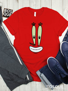 Spongebob & Friends Mr. Krabs Face Premium Tee | Long Tee Shirt | Hoodie | Sweatshirt | Tank-Top …