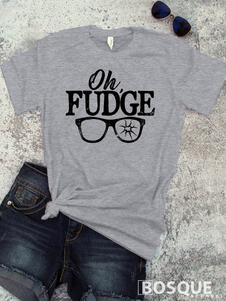 Oh Fudge A Christmas Story inspired -  Ink Printed T-Shirt