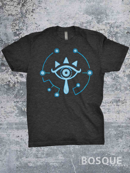 Sheikah design - The Legend of Zelda Breath of the Wild inspired T-Shirt - Ink Printed