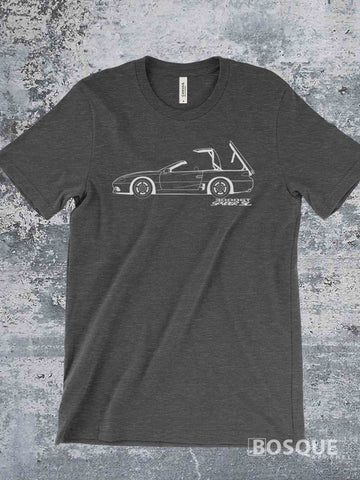 Blueprint 1995 - 1996 3000GT Spyder SL hard top convertible SL Shirt - Ink Printed T-Shirt