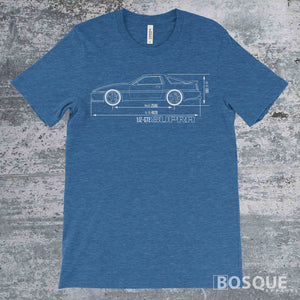 Blueprint MKIII Supra Turbo Shirt - Ink Printed T-Shirt