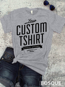 Custom Print Tee - Ink Printed T-Shirt