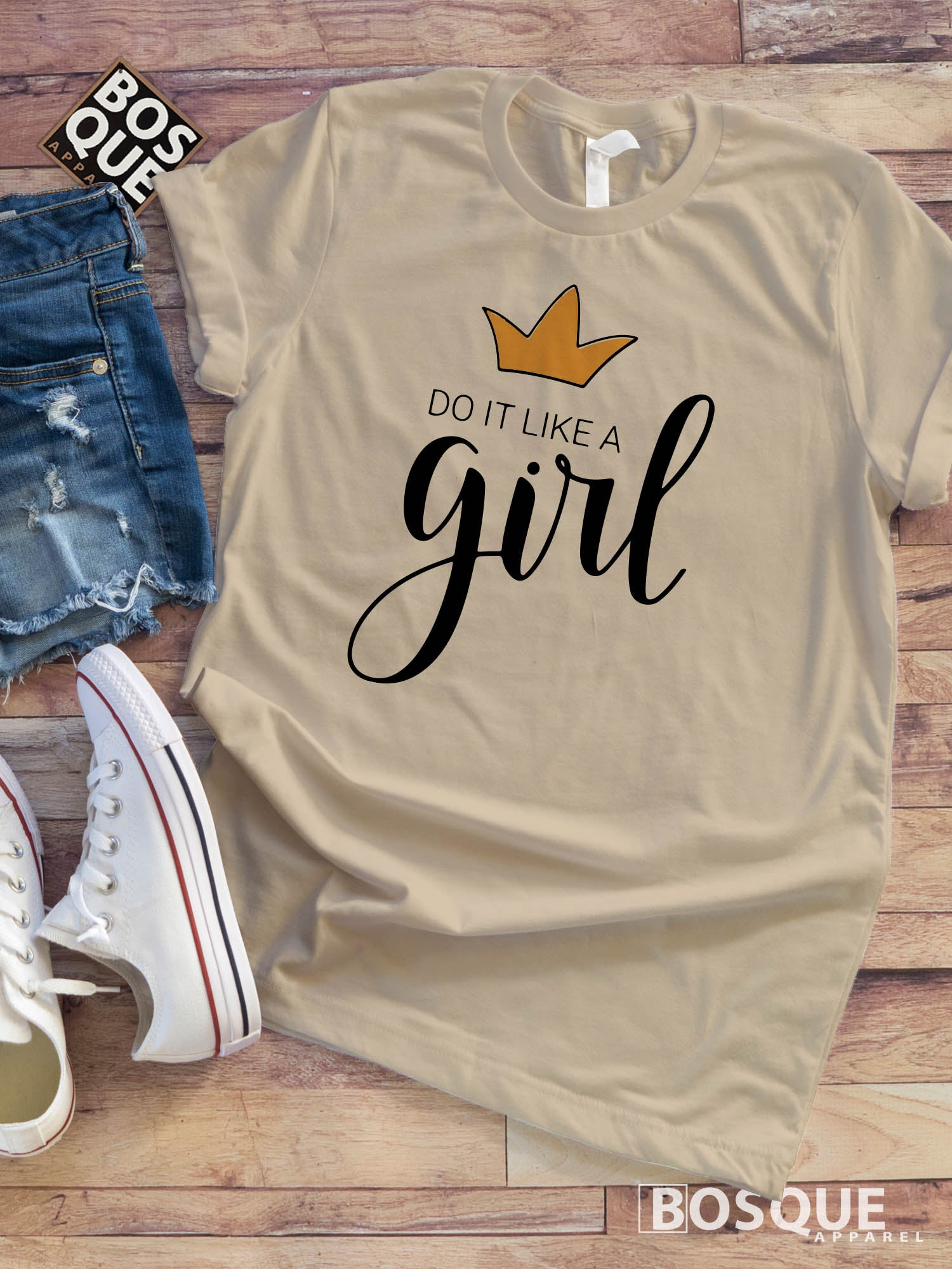 Do it Like a Girl - Girl Boss tee - Ink Printed T-Shirt
