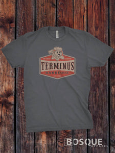 The Walking Dead - Terminus BBQ Inspired TV Show T-Shirt / Adults T-shirt Top Tee Shirt - Ink Printed