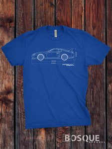 Blueprint MKIV Supra Turbo Shirt - Ink Printed T-Shirt