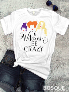 Hocus Pocus - In Color - Witches be crazy Halloween inspired shirt - Ink Printed T-Shirt