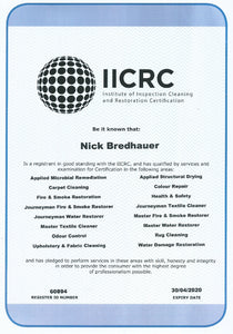 DeconASSIST IICRC Certified