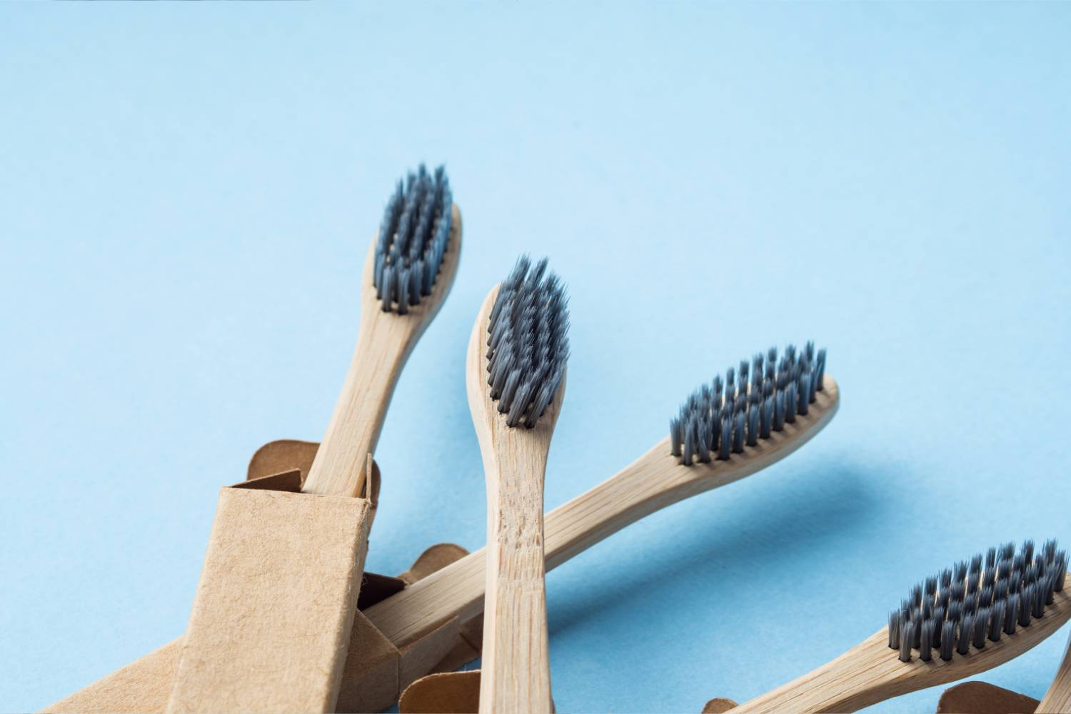 Bamboo Toothbrush with Charcoal