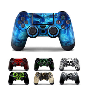 Skull Cover Sticker Skin for DualShock 4