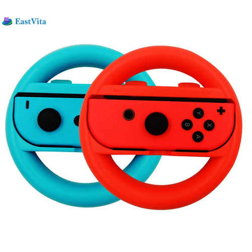 Eastvita Nintendo Switch Controller Steering Wheel: Pack of 2