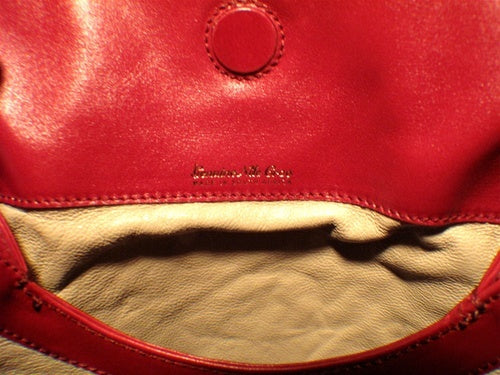 Private Lable Red Crocodile Shoulder Bag