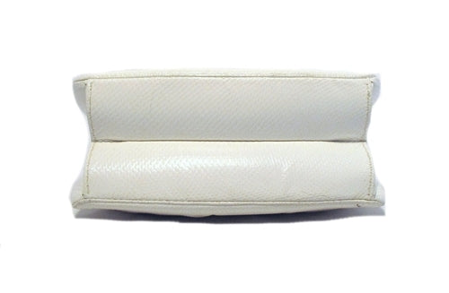 Judith Leiber White Lizard  and  Swarovski Evening Bag
