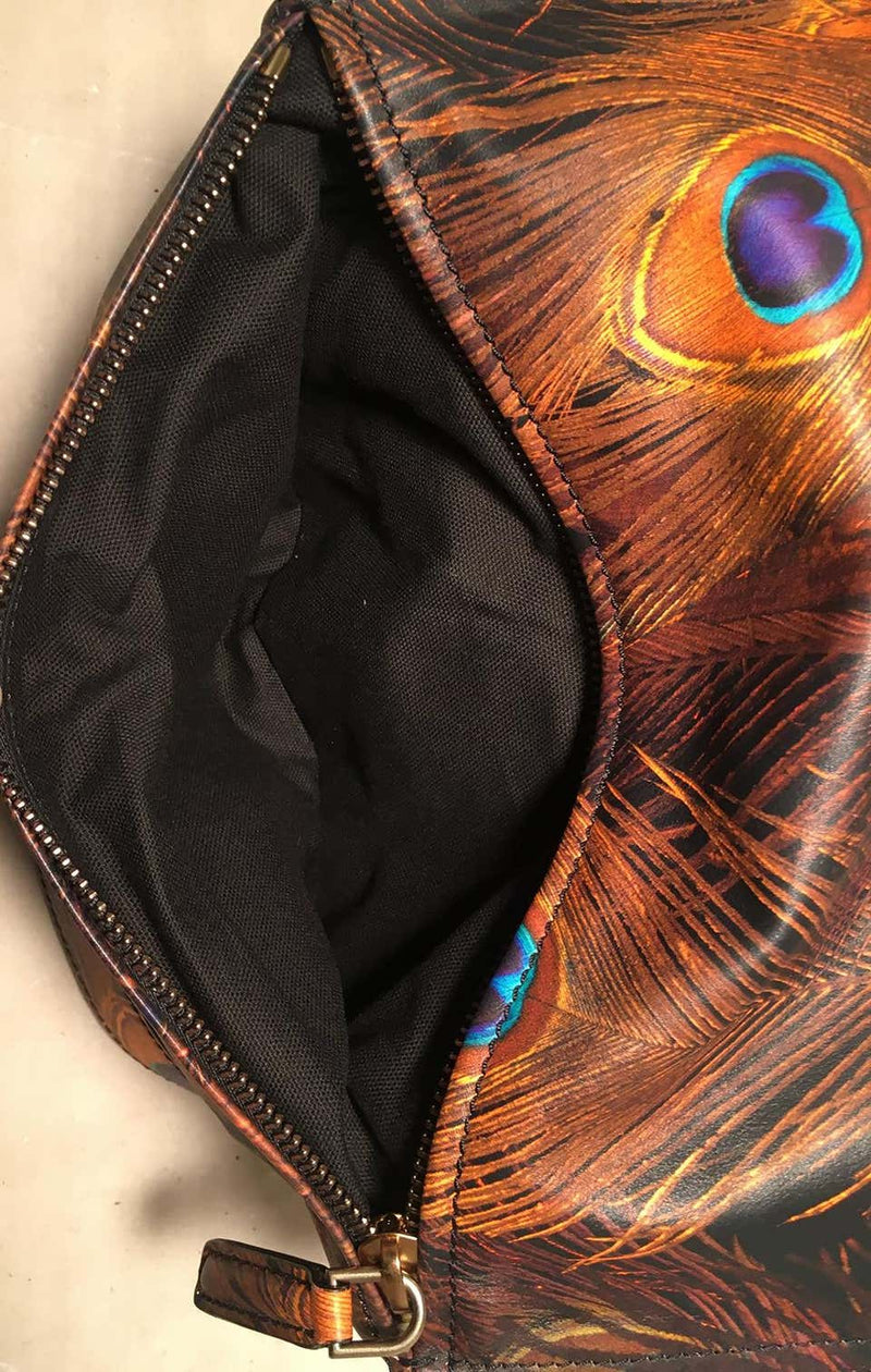 Givenchy Pandora Peacock Leather Shoulder Bag