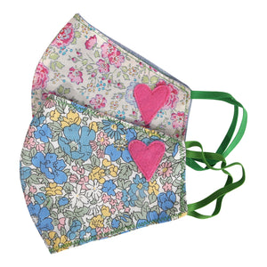 Floral Heart Masks V
