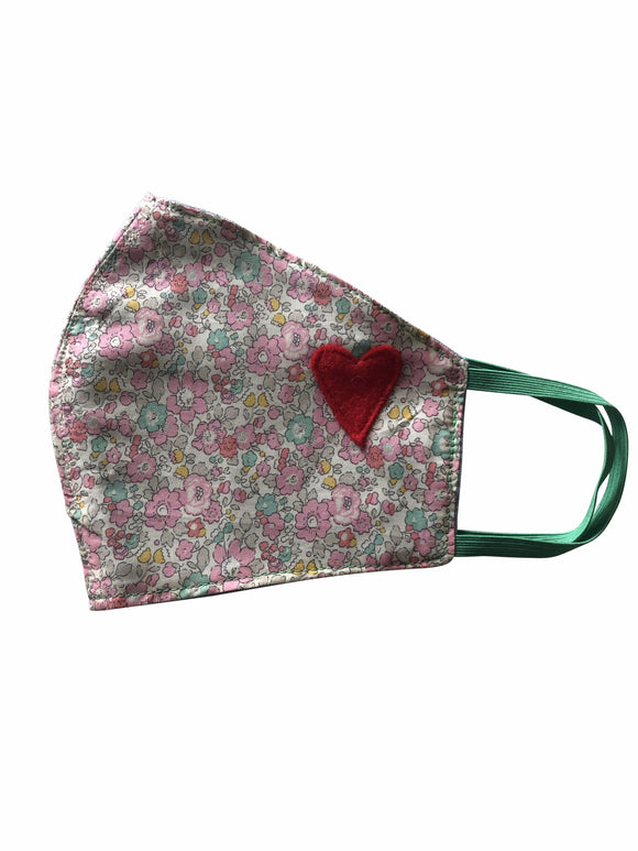 Floral Heart Mask II