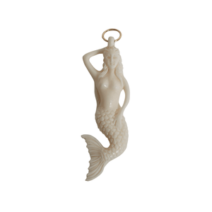 Bone Mermaid Pendant