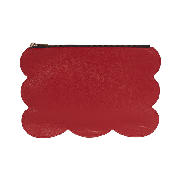 Scalloped Clutch