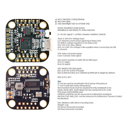 Drone Flight Controllers, ESCs, and Power Distribution – The