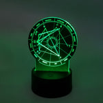 LED Astrology Desk Display