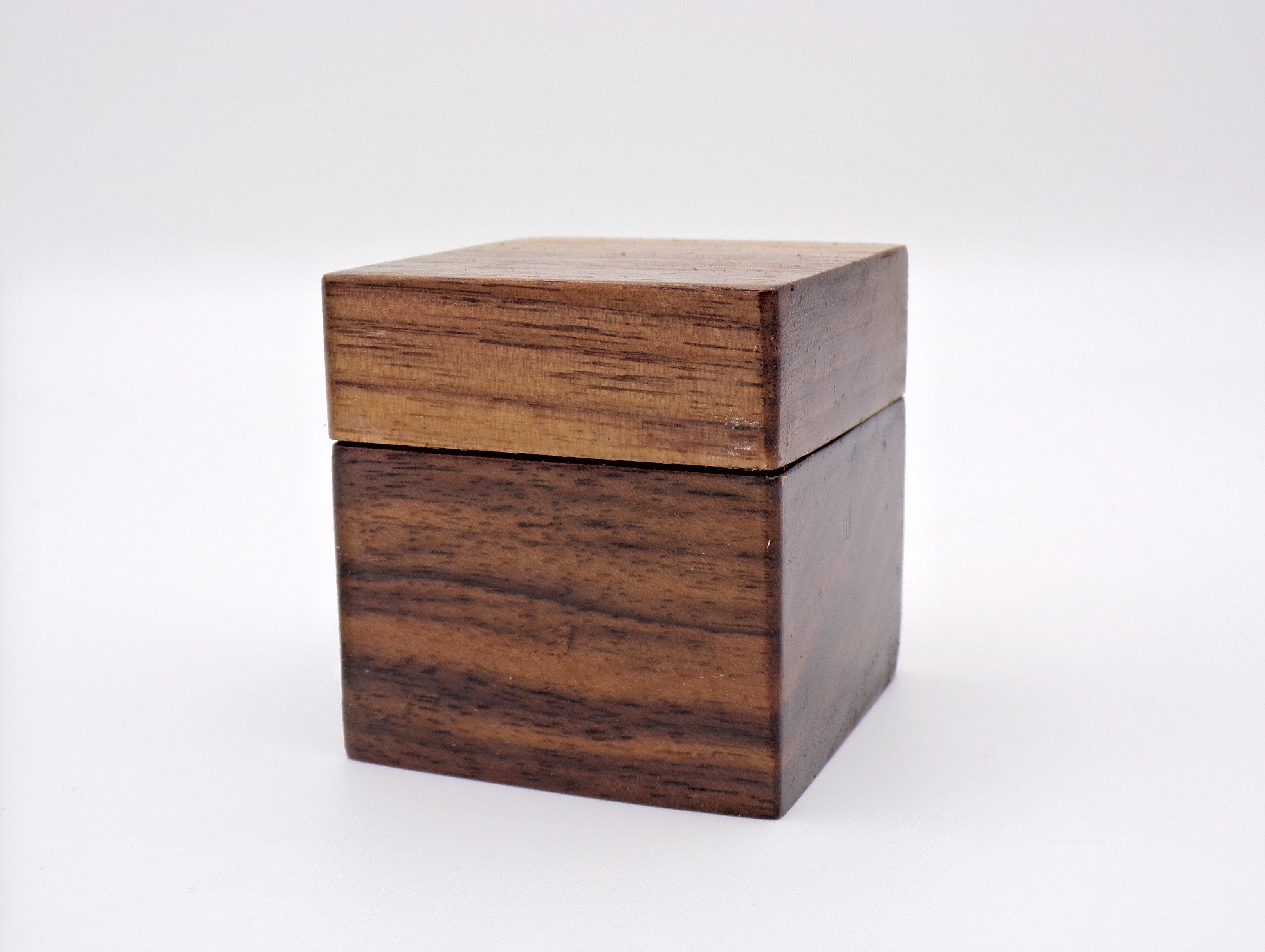 Personalized Walnut Ring Box