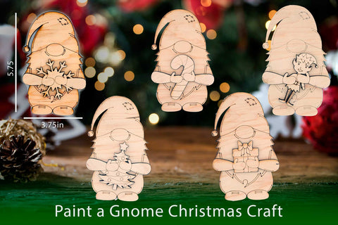 Paint a Christmas Gnome Set