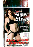 Lovers Super Strap Universal Harness Black
