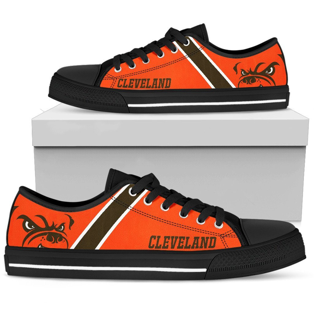 Cleveland Browns Shoes - Casual Canvas