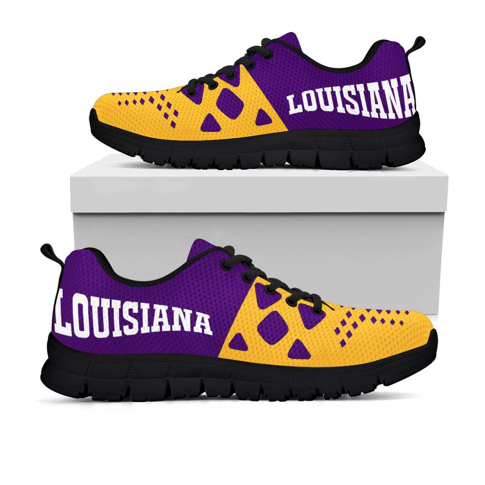 LSU Tigers Running Shoes - Gym Sneakers
