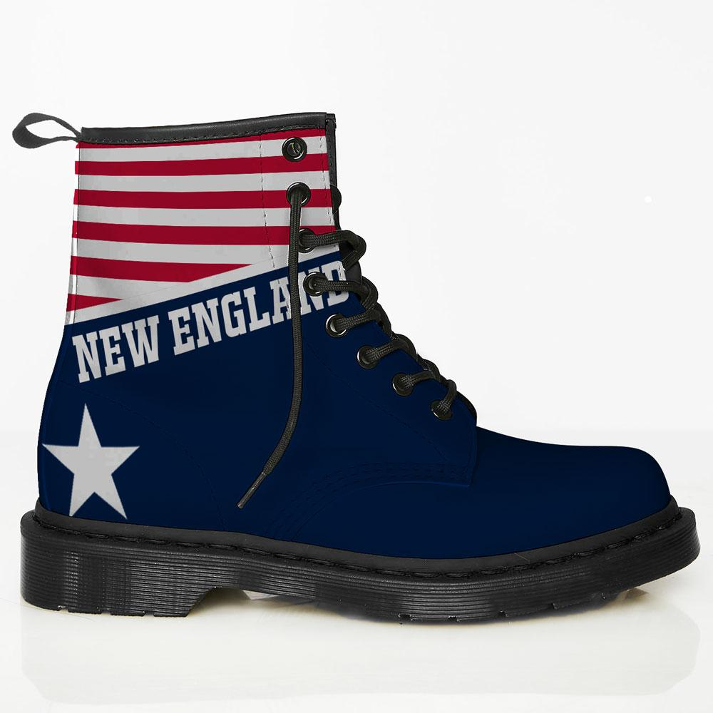New England Leather Boots
