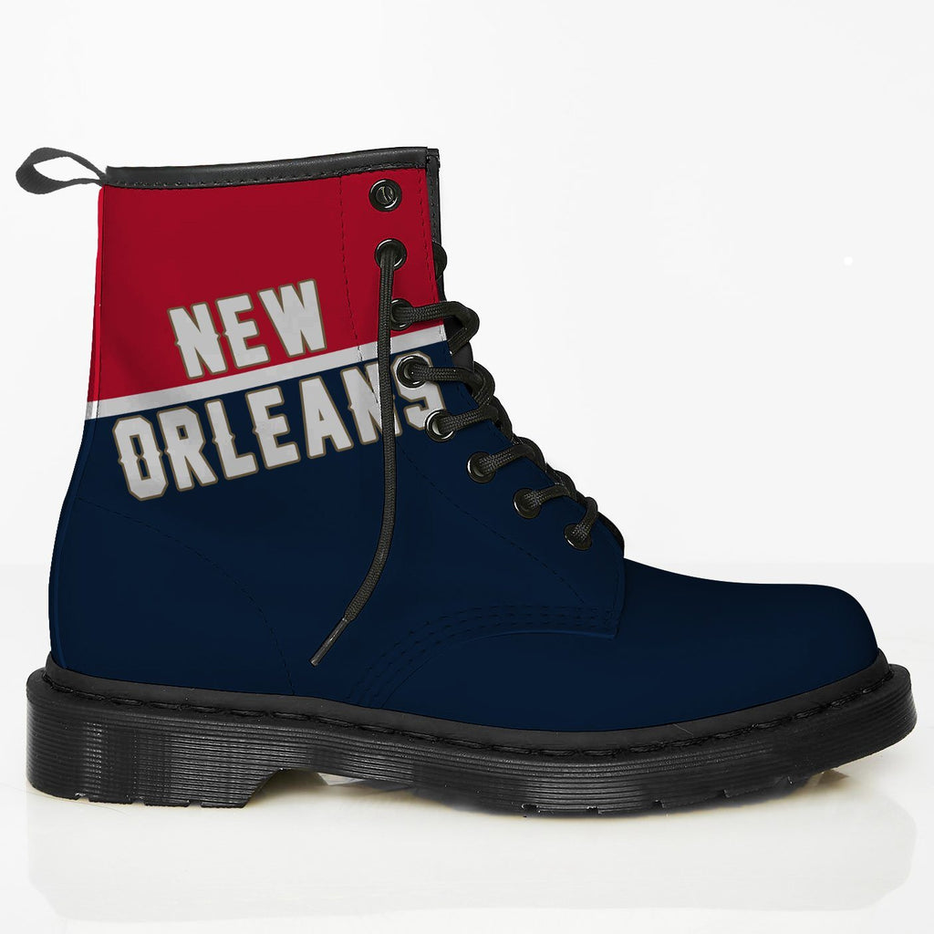 New Orleans Leather Boots PE