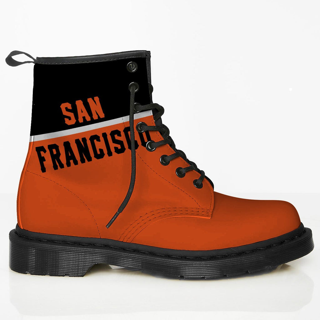 San Francisco Leather Boots GI