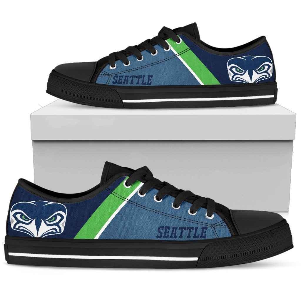 Seattle Seahawks Shoes - Casual Canvas