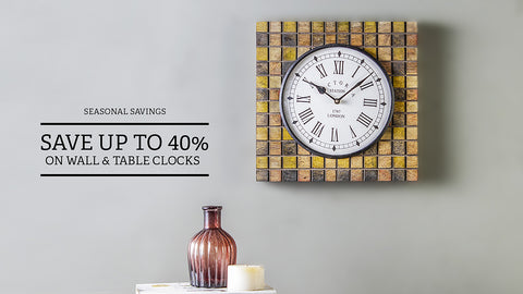 Wall & Table Clocks