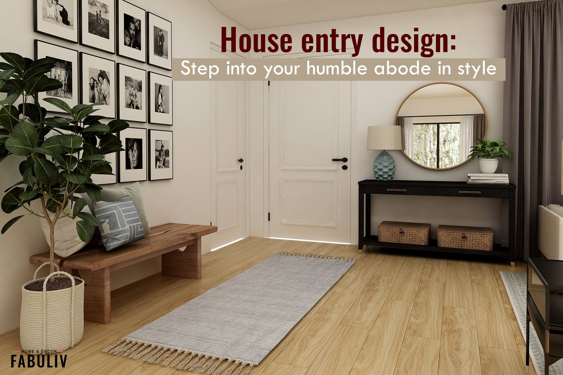 house entry design and decor