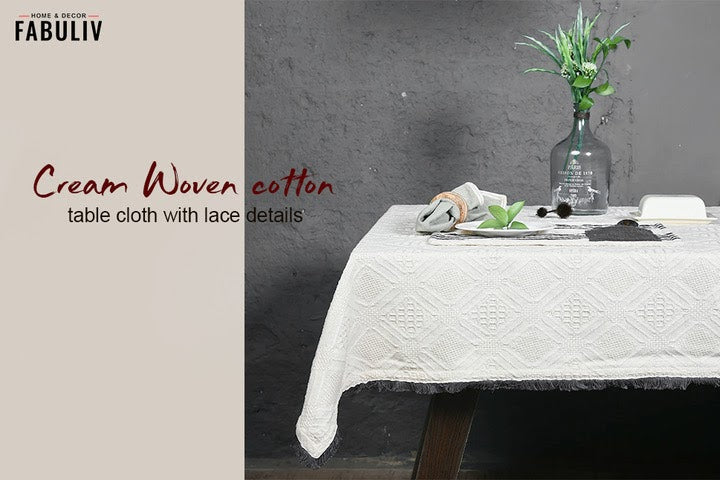 cotton table cloth fabuliv