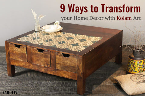 kolam art handcrafted home decor and furniture